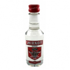 Miniatura Vodka Smirnoff 50ml