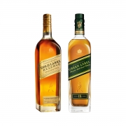 Johnnie Walker Green e Gold